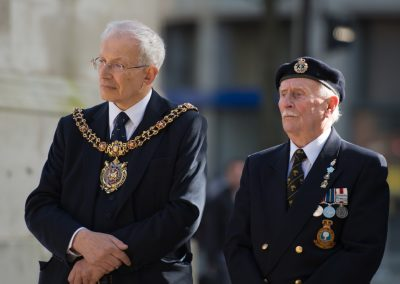 Lord Mayor 'Eddie' Newman and Terry Washington - Manchester