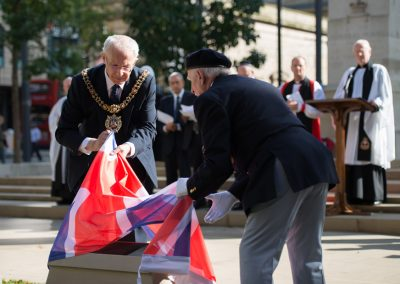 Unveiling the Memorial - Manchester