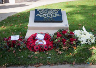 Refurbished & Rededicated Manchester Memorial 2017