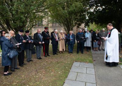 Nuclear Community members Leeds re-dedication 2018