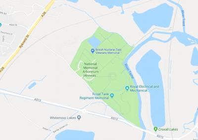 BNTVA memorial map