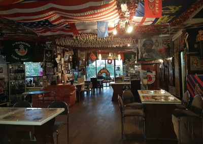General View - The Don, War Memorial Bar