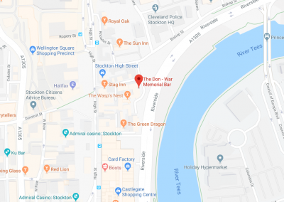 Map The Don War Memorial Bar