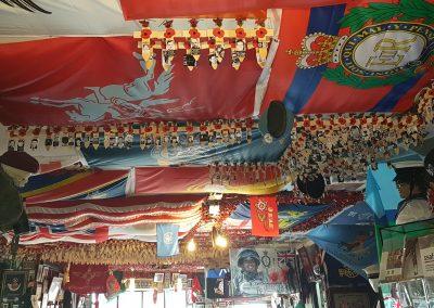 The ceiling - The Don, War Memorial Bar
