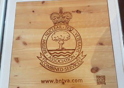 BNTVA Table - The Don, War Memorial Bar